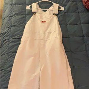Dickies brand carpenter bib overalls